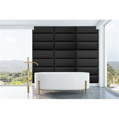 WALL PANEL - EBONY BLACK - 10.7 SF